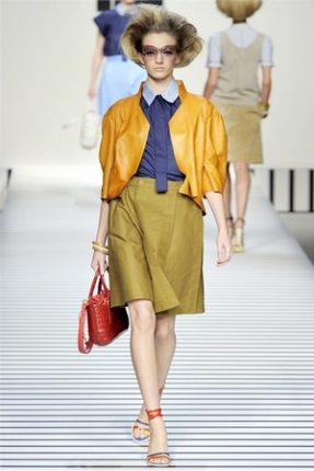 Fendi collezione abbigliamento donna primavera estate 2012-1