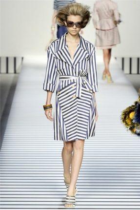 Fendi collezione abbigliamento donna primavera estate 2012-2
