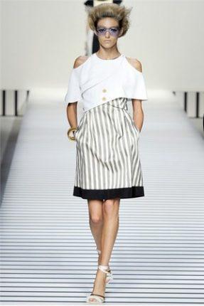 Fendi collezione abbigliamento donna primavera estate 2012-3