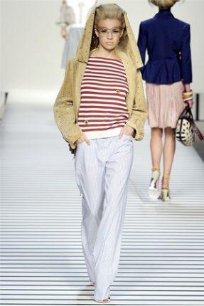 Fendi collezione abbigliamento donna primavera estate 2012