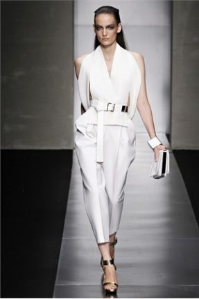 Gianfranco Ferré abbigliamento ed accessori primavera estate 2012-3