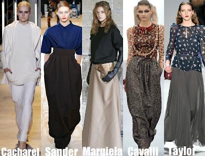 Gonne tendenze e trend moda primavera estate 2012