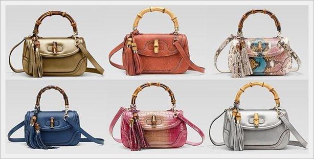 Gucci Bamboo collezione Borse moda catalogo Primavera Estate 2012-1