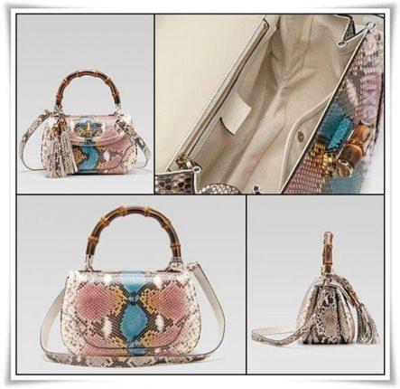 Gucci Bamboo collezione Borse moda catalogo Primavera Estate 2012
