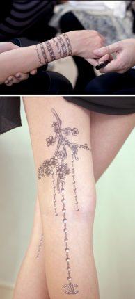 Idee e tendenze Tatuaggi disegnati temporanei per lestate