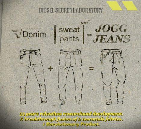 Jogg Jeans di Diesel collezione moda Primavera Estrate 2012