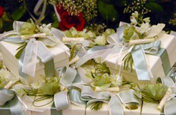 Le bomboniere per la sposa