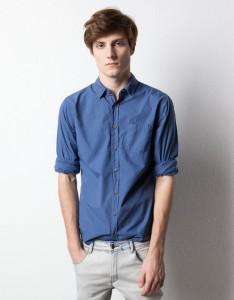 Pull and Bear collezione  camicie moda uomo per primavera estate 2012 -1