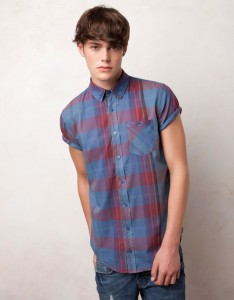 Pull and Bear collezione  camicie moda uomo per primavera estate 2012