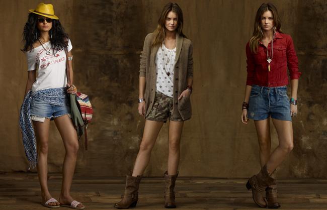 Ralph Lauren abbigliamento denim collezione moda primavera estate