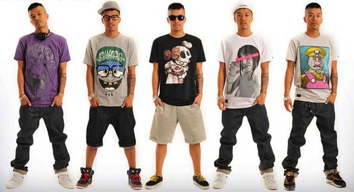Stile hip hop uomo