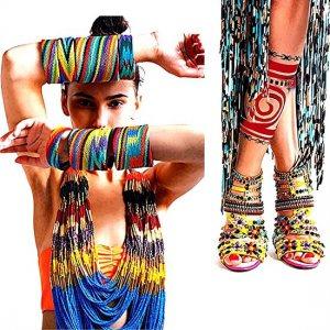 Style fashion etnico tendenze moda donna primavera estate 2012-1
