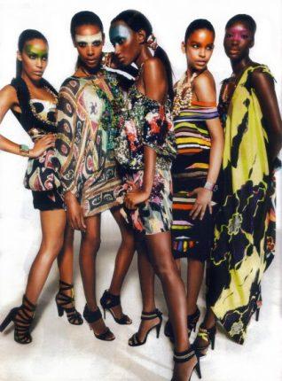 Style fashion etnico tendenze moda donna primavera estate 2012