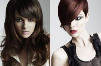 Tagli capelli con frangia