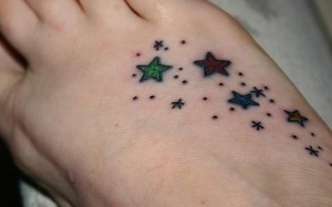 Tatuaggi stelle significato stella tattoo simbolo uomo  donna-2