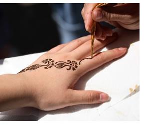 Tatuaggi disegnati temporanei