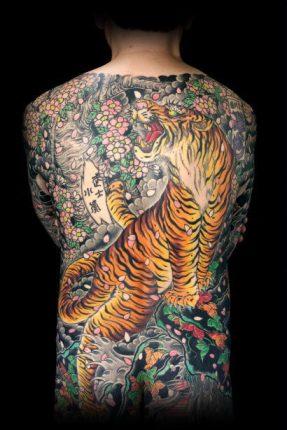 Tatuaggio tradizionale giapponese Horimono