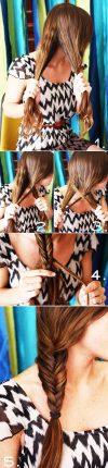 Tutorial pettinature capelli -  treccia a spiga