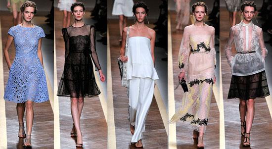 Valentino collezione abbigliamento primavera estate 2012