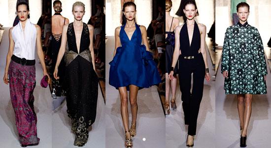 Yves Saint Laurent abbigliamento primavera estate 2012-1
