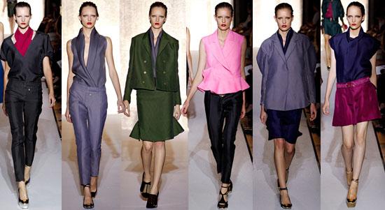 Yves Saint Laurent abbigliamento primavera estate 2012