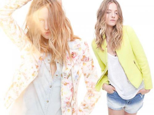 Zara TRF collezione moda abbigliamento primavera estate 2012