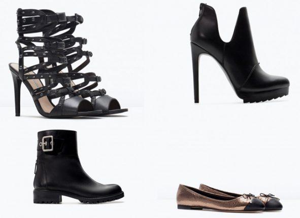 Zara collezione scarpe catalogo primavera estate