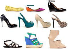 Zara scarpe primavera estate
