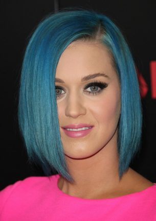 katy perry capelli blu