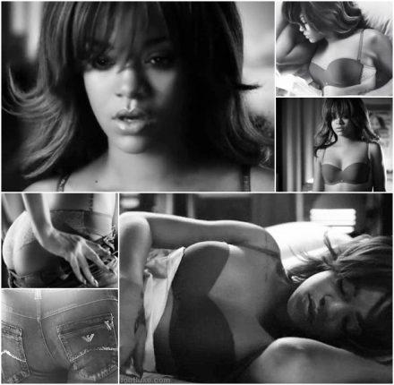 Armani Jeans Video hot con Rihanna