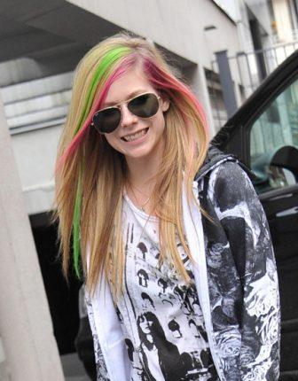 Avril Lavigne Colore capelli