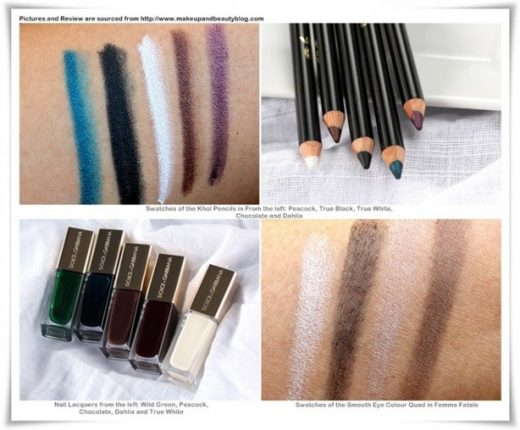 Dolce e Gabbana Kohl Makeup Collection per la primavera 2012-2