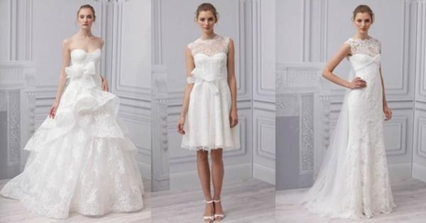 Monique lHuillier collezione abiti da sposa 2013