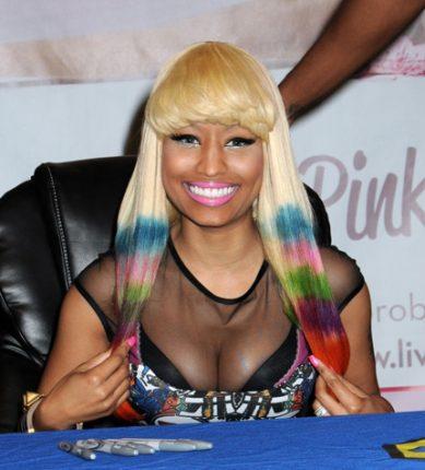 Nicki Minaj Colore capelli