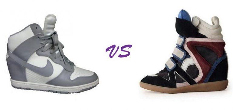Nike nuove scarpe con zeppa e wedge