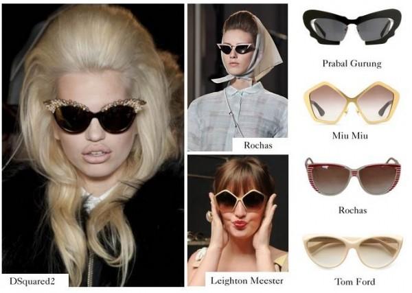 Retro-frames-Occhiali da sole di tendenza estate 2012