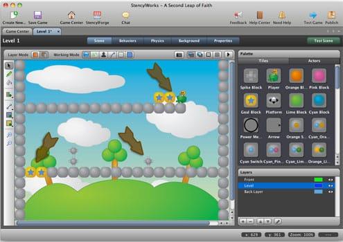 StencylWorks Creare Videogame