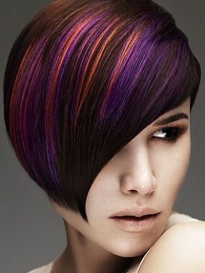 Tinte castane colore e tagli capelli 2012-1
