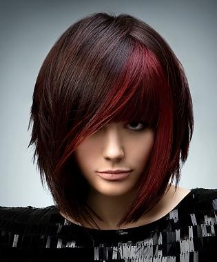 Tinte castane colore e tagli capelli 2012-3