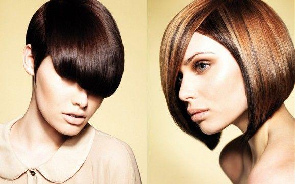 Tinte castane colore e tagli capelli 2012