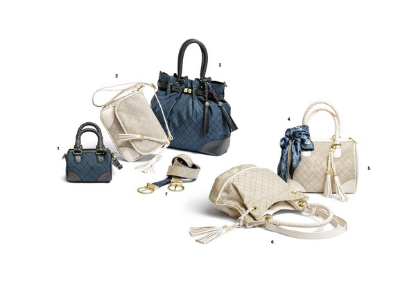 carpisa-borse bianche blu-donna-collezione-primavera-estate-2012