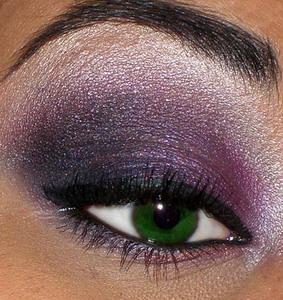 trucco-verde-viola