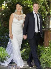 Mark Zuckerberg nozze