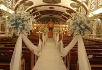 chiesa decorazioni con nebbiolina