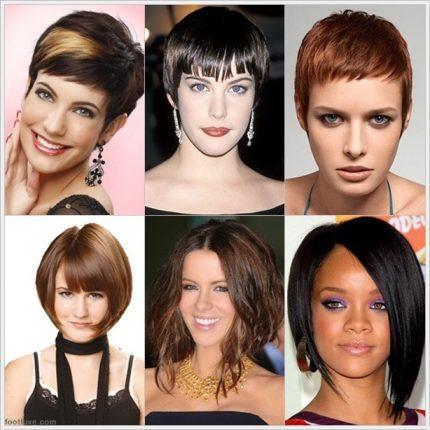 Tagli capelli corti per viso allungato