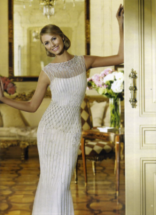 Stacy Keibler in Delicia, Fashion collection, Pronovias 2013