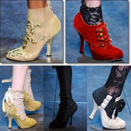Dolce  Gabbana Autunno Inverno 2012-2013 Collezione Shoes