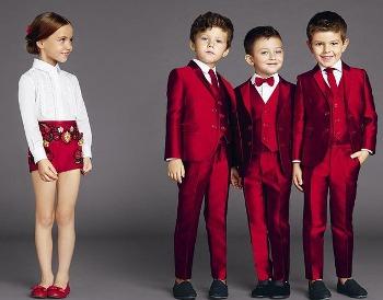 Dolce Gabbana kids nuova linea bambini