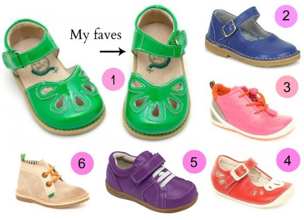 Scegliere scarpe giuste per bambini