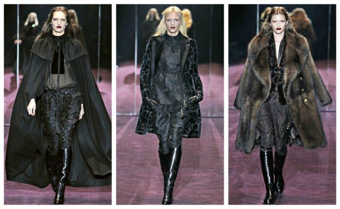 gucci-autunno-inverno-2012-2013-cappe-e-pelliccie-lunghe-tessuti-broccati-stivali-equestri